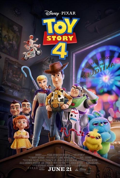 Toy Story 4 2D DE