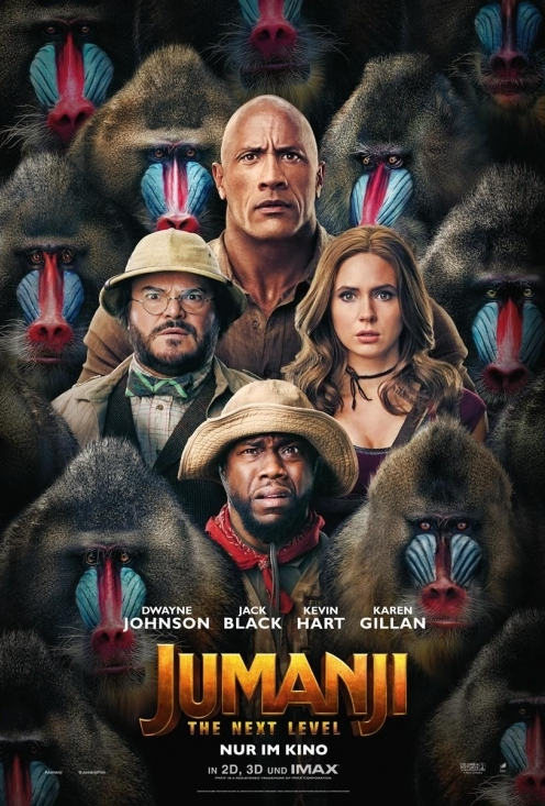 Jumanji: The Next Level 2D DE