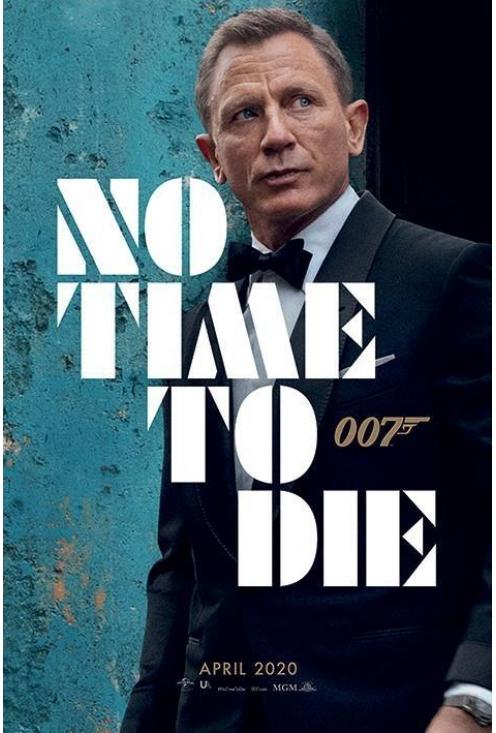 James Bond 007 - No Time to Die (EN st FR/DE)